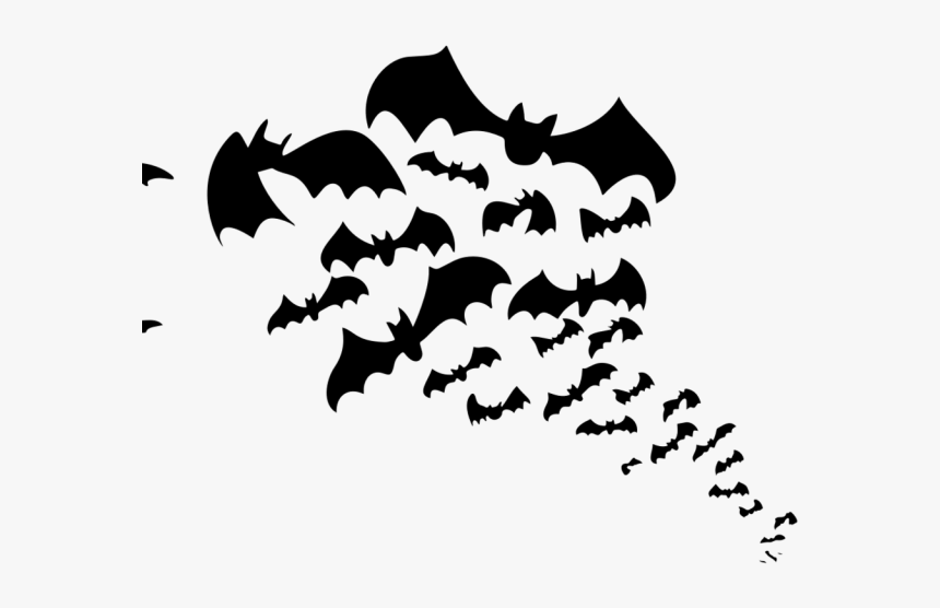 Bat Cliparts Silhouette Silhouette Bat Clipart Black And White Hd Png Download Kindpng