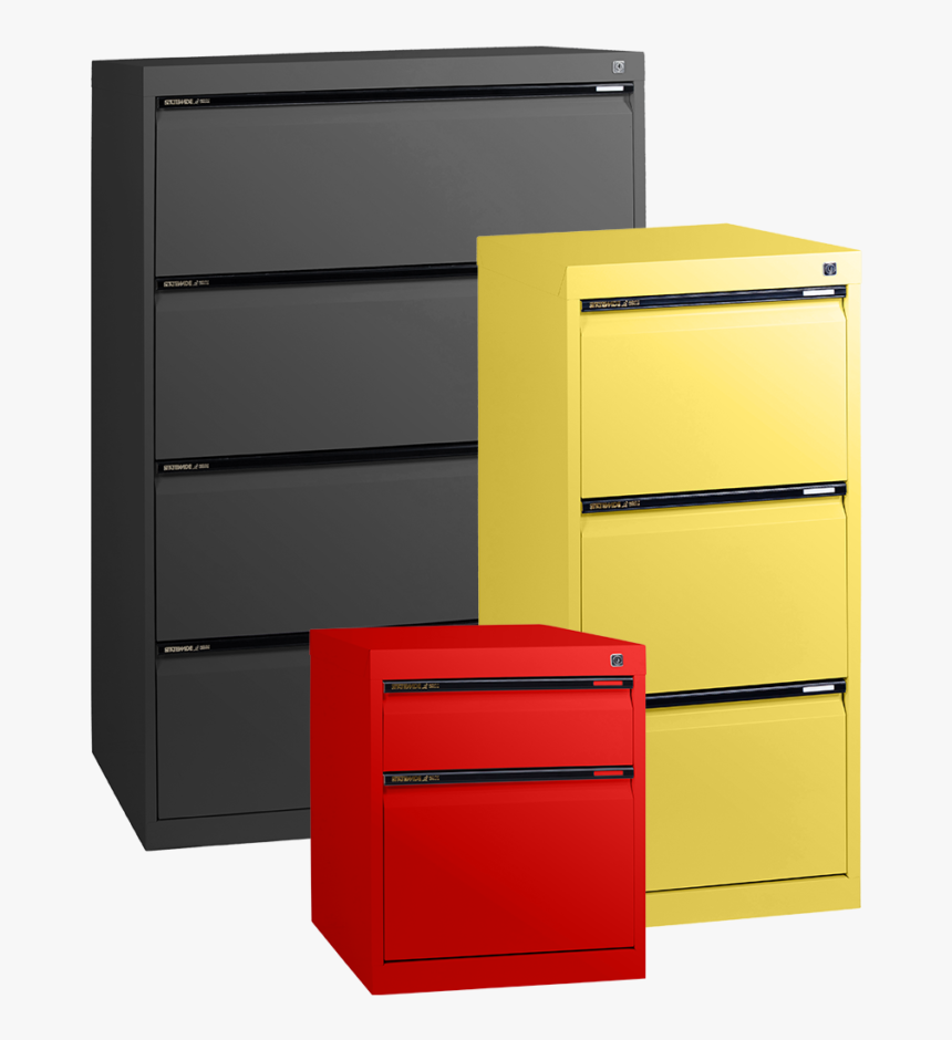 Filing Storage Category - Coloured Filing Cabinets Australia, HD Png Download, Free Download