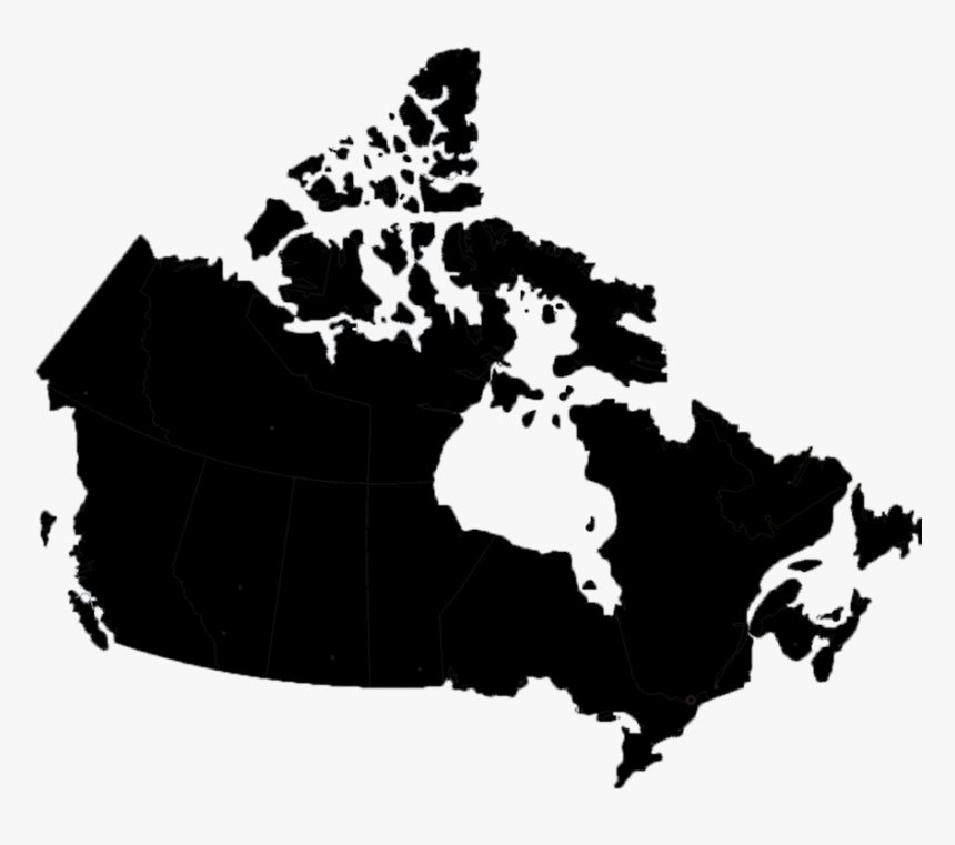 Map Of Canada , Png Download - Map Of Canada, Transparent Png, Free Download