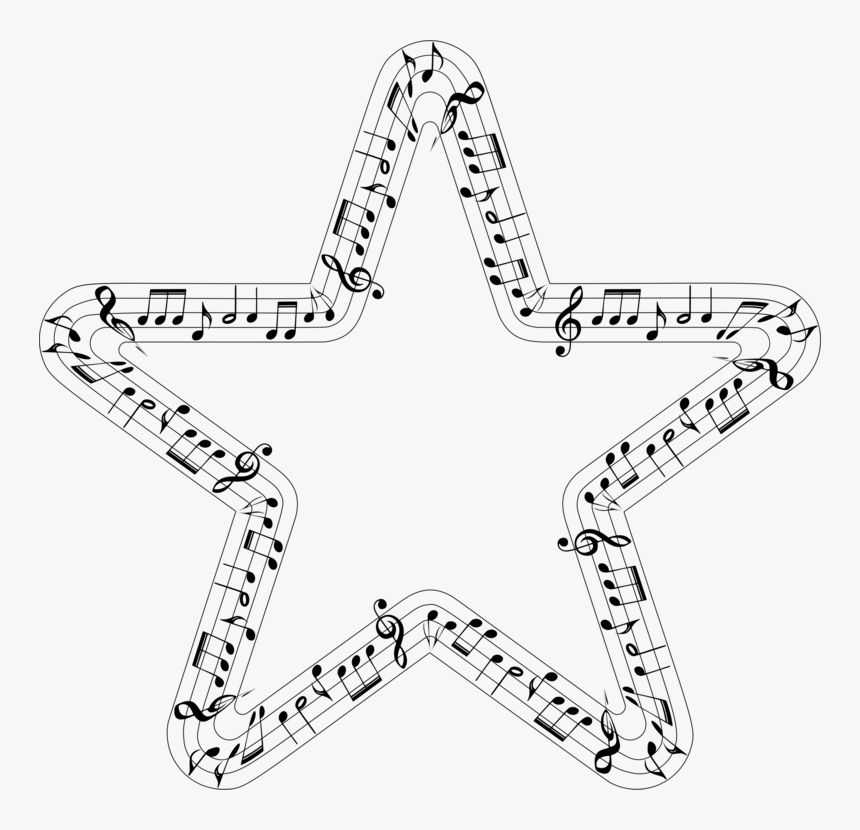 A Pocket Guide To Writing In History Star Computer - Frame Music Star, HD Png Download, Free Download