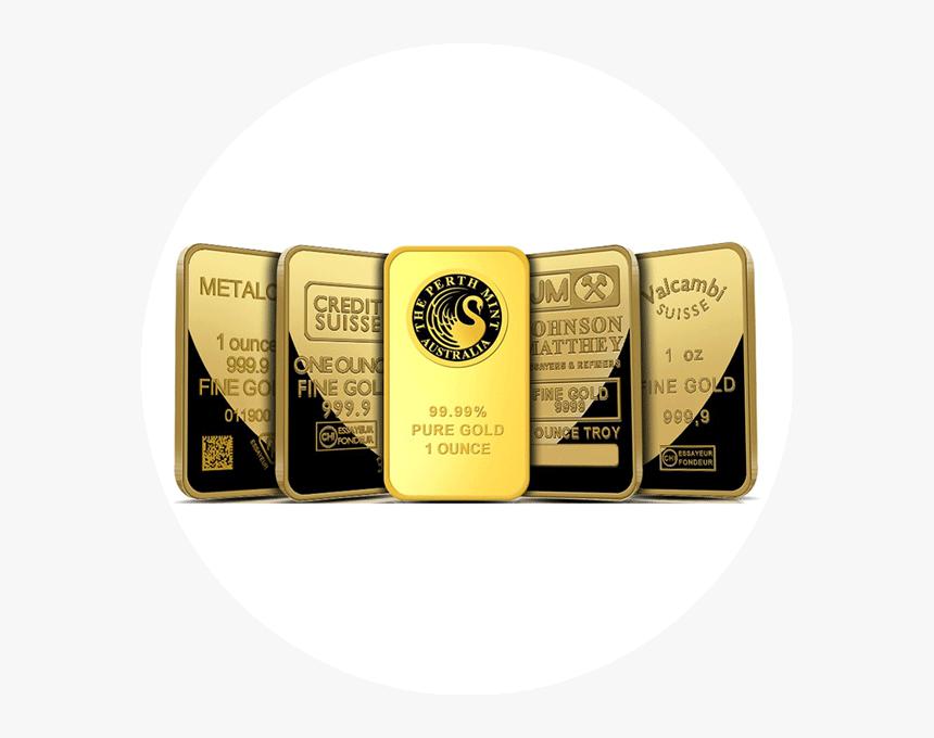 Transparent Gold Bullion Png - Fine Gold Bar, Png Download, Free Download