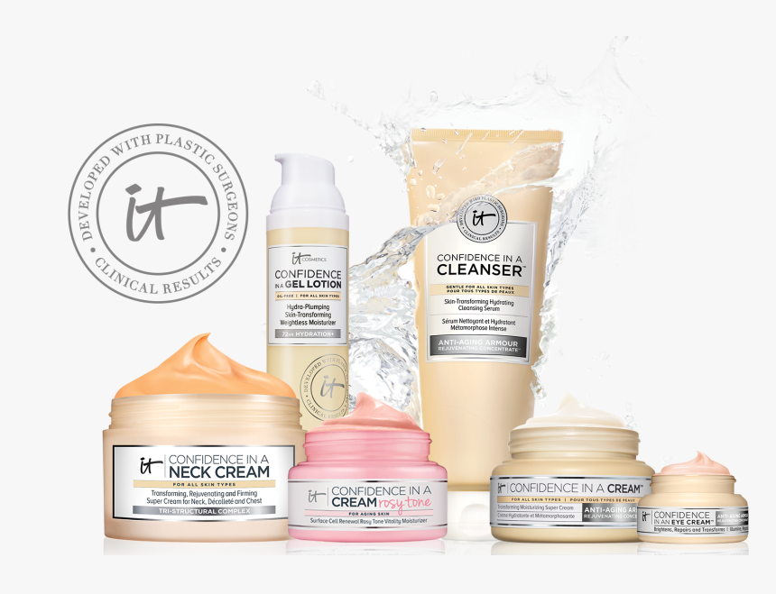 Cosmetic Skin Care Products Hd Png Download Kindpng