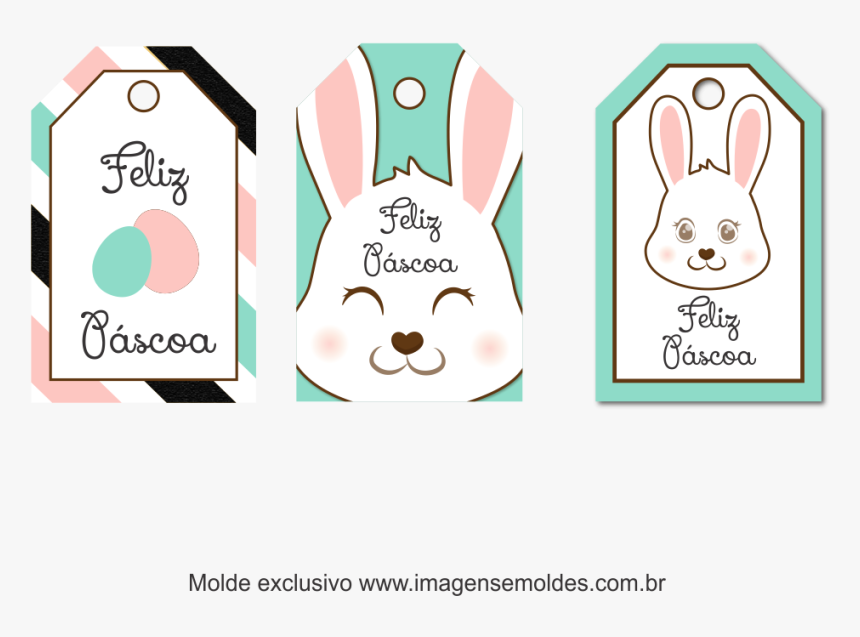 Tag Pascoa Para Imprimir Hd Png Download Kindpng