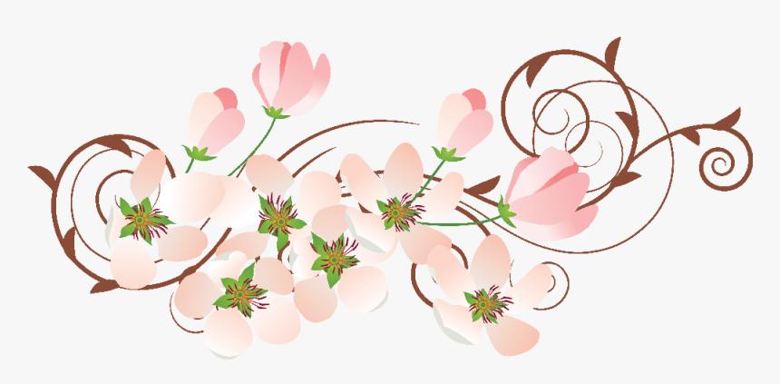 Transparent Enredadera Png - Free Download Vector For Flowers, Png Download, Free Download