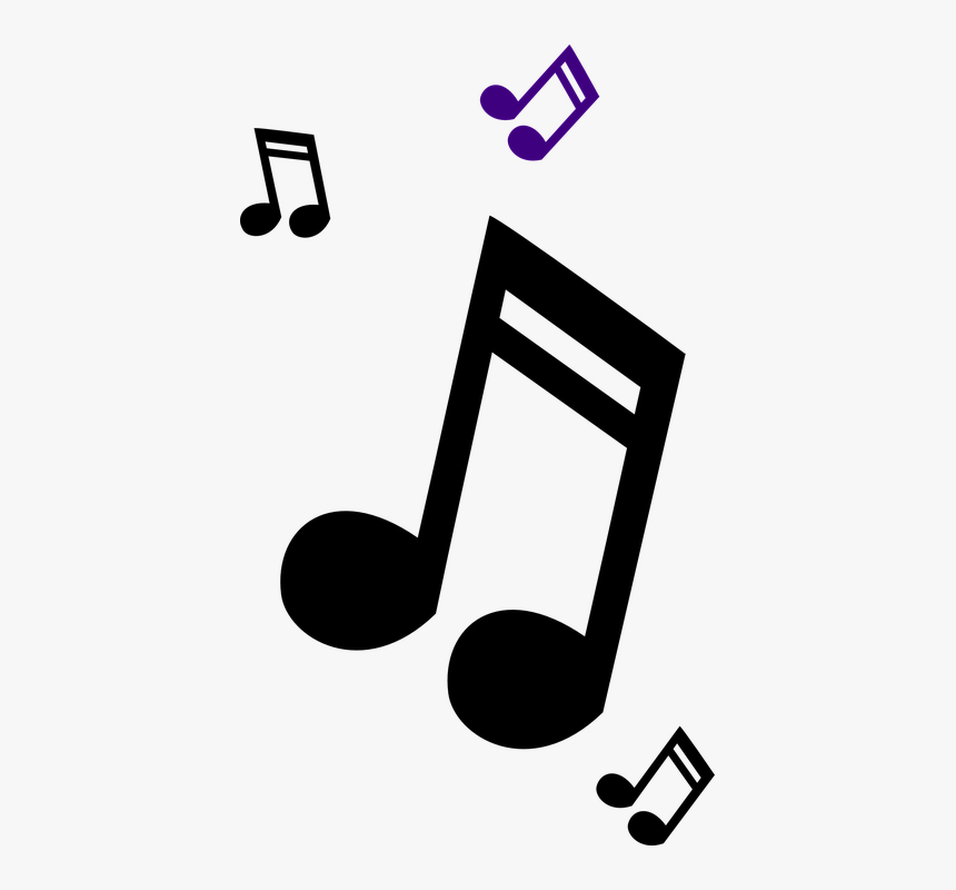 Music Note Logo Design Png Colorful Transparent Music Notes Png Download Kindpng
