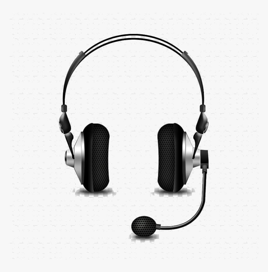 Headphones Microphone Headset Phone Connector Bluetooth - Headset Png Transparent Background, Png Download, Free Download
