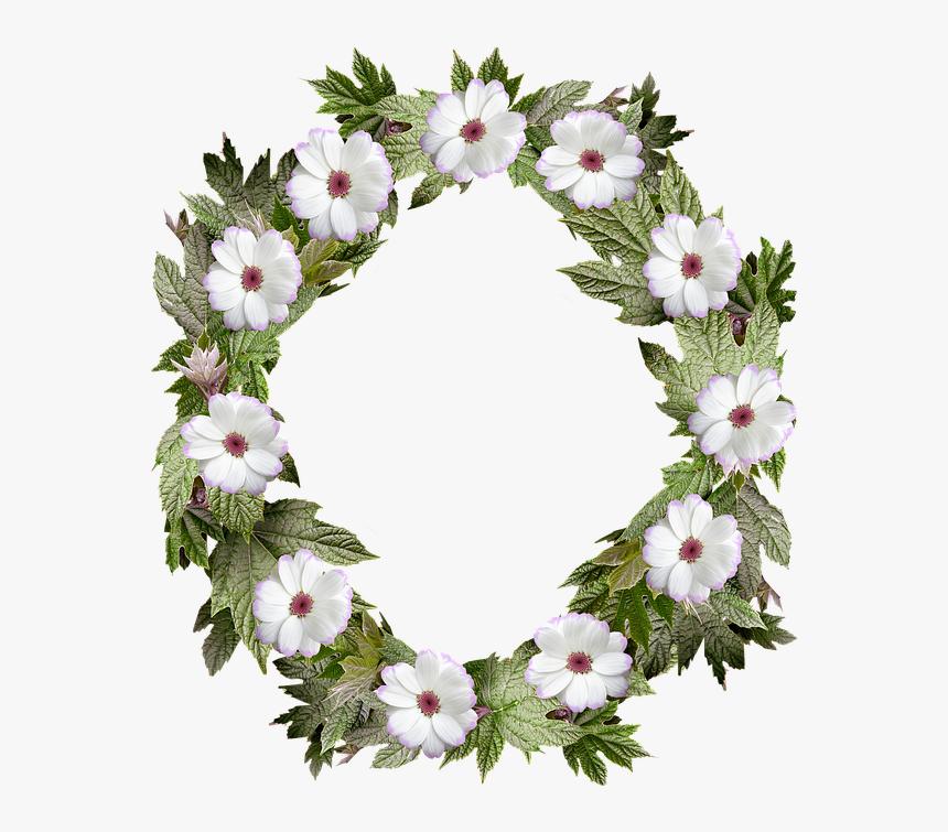 wreath frame border flower leaf bingkai karangan bunga hd png download kindpng wreath frame border flower leaf