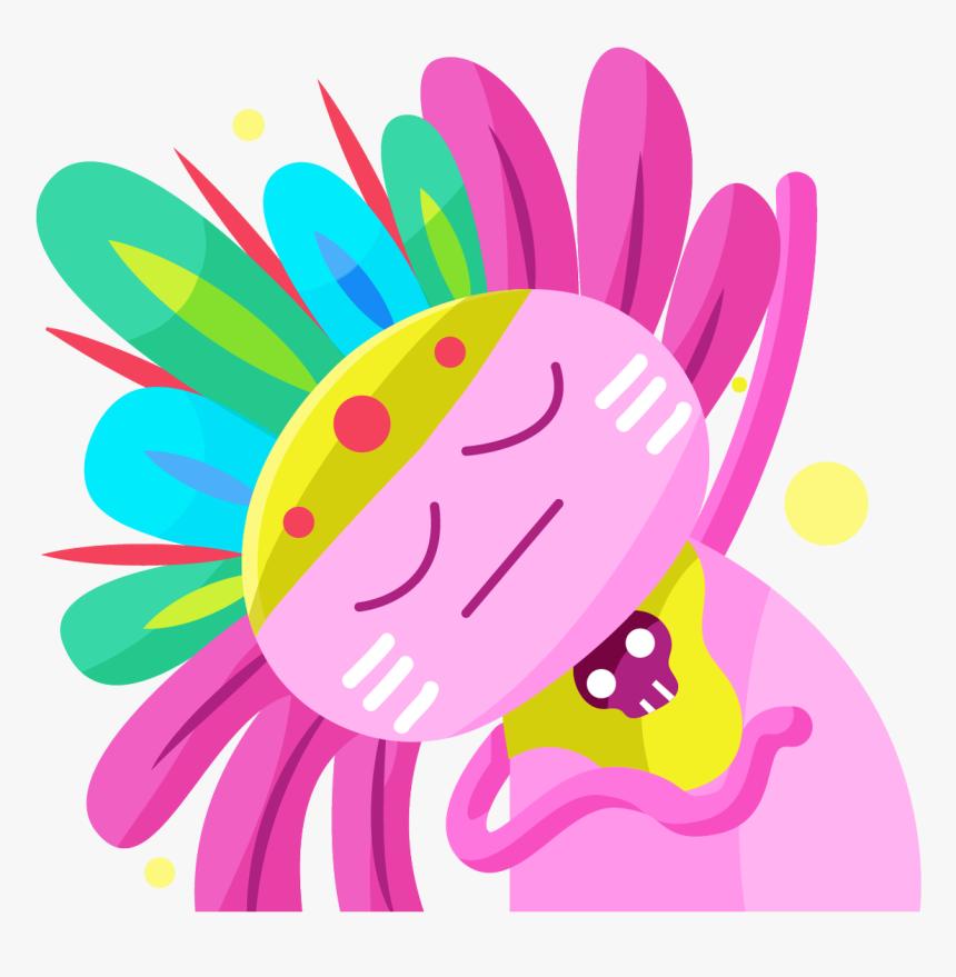 Emojis Cdmx - Emojis Ajolote Png, Transparent Png, Free Download