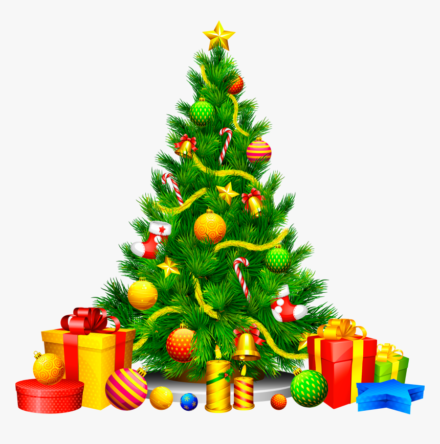 Transparent Background Christmas Tree Png, Png Download, Free Download