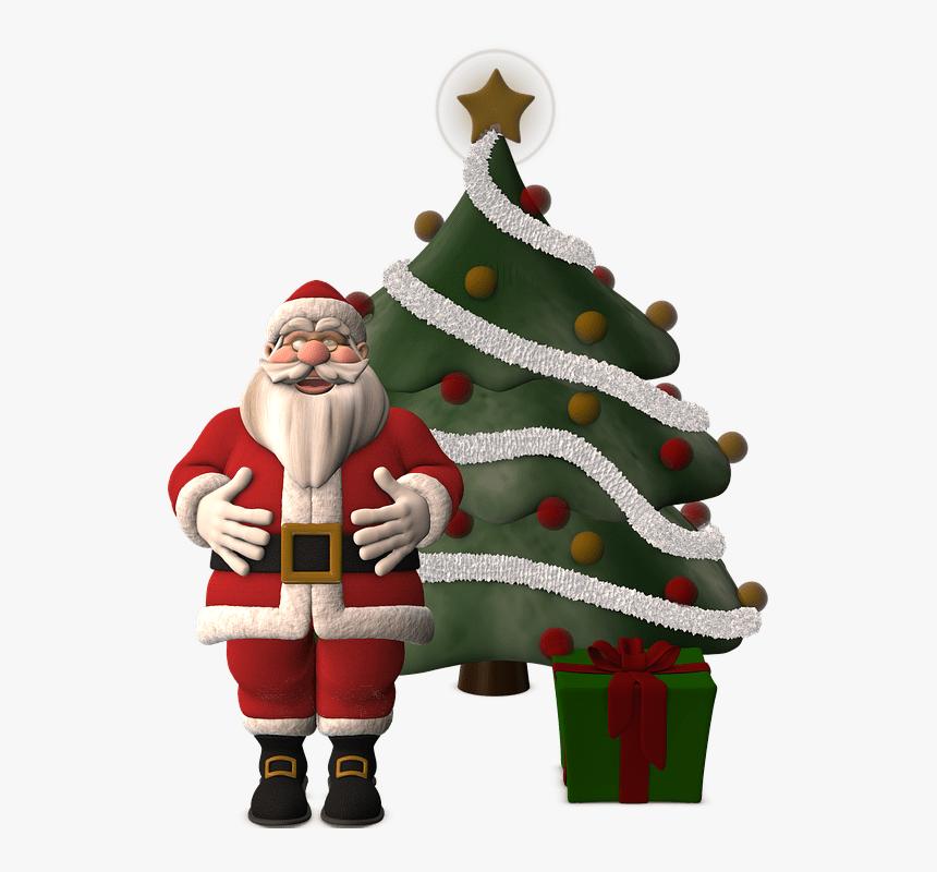 Papá Noel Arbol De Navidad - Merry Christmas Real Estate, HD Png Download, Free Download
