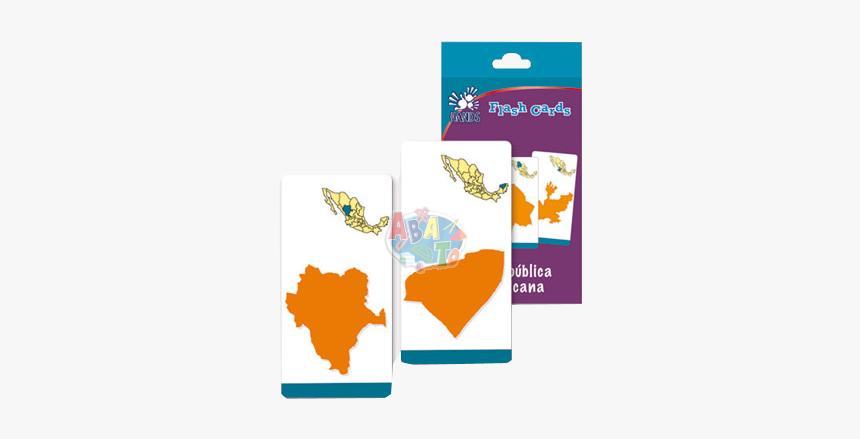 Flash Cards Estados De La República - Illustration, HD Png Download, Free Download
