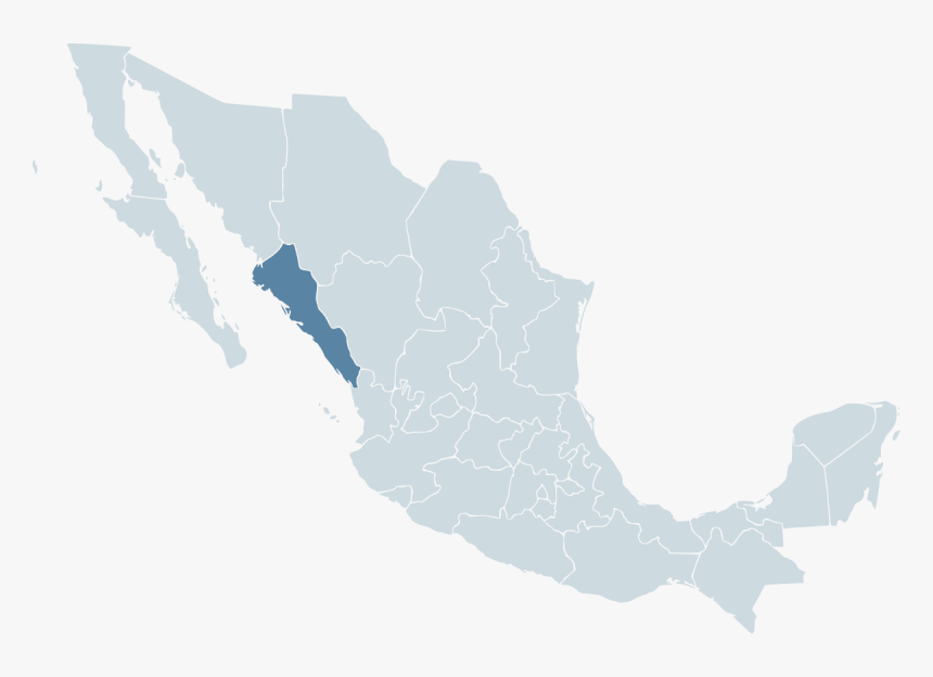 Oaxaca Mexico Map Png, Transparent Png, Free Download