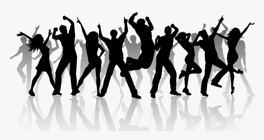 People Dancing Cartoon Hd Png Download Kindpng