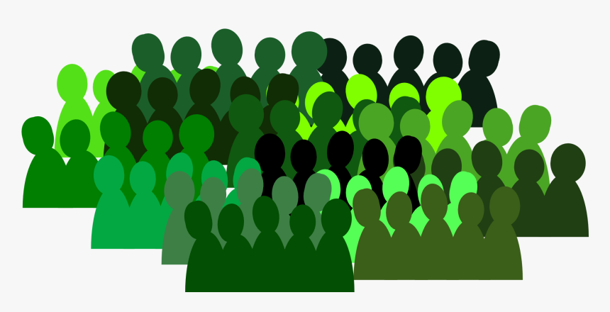 People, Group, Crowd, Team, Isolated, Teamwork - Transparent Background Crowd Icon, HD Png Download, Free Download