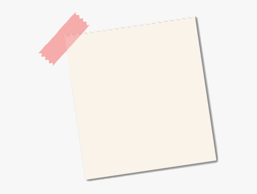 #note #paper #tape #pinktape #letter #edits #background - Transparent Background Note Paper Png, Png Download, Free Download