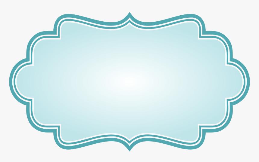 Transparent Bracket Frame Clipart - Blue Bracket Frame Png, Png Download, Free Download