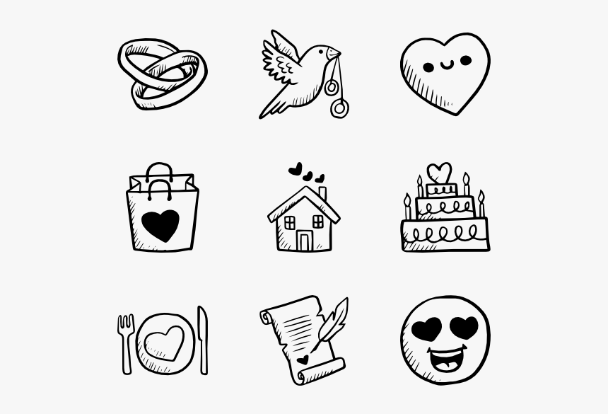 Clip Art Carton Drawing For - Hand Drawn Icon Png, Transparent Png, Free Download