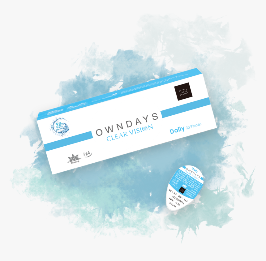 Owndays Clear Vision Package - Owndays Clear Vision, HD Png Download, Free Download