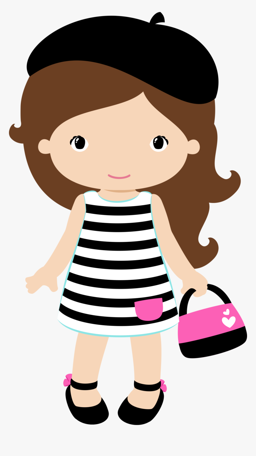 Toddler Girl Clipart, HD Png Download, Free Download
