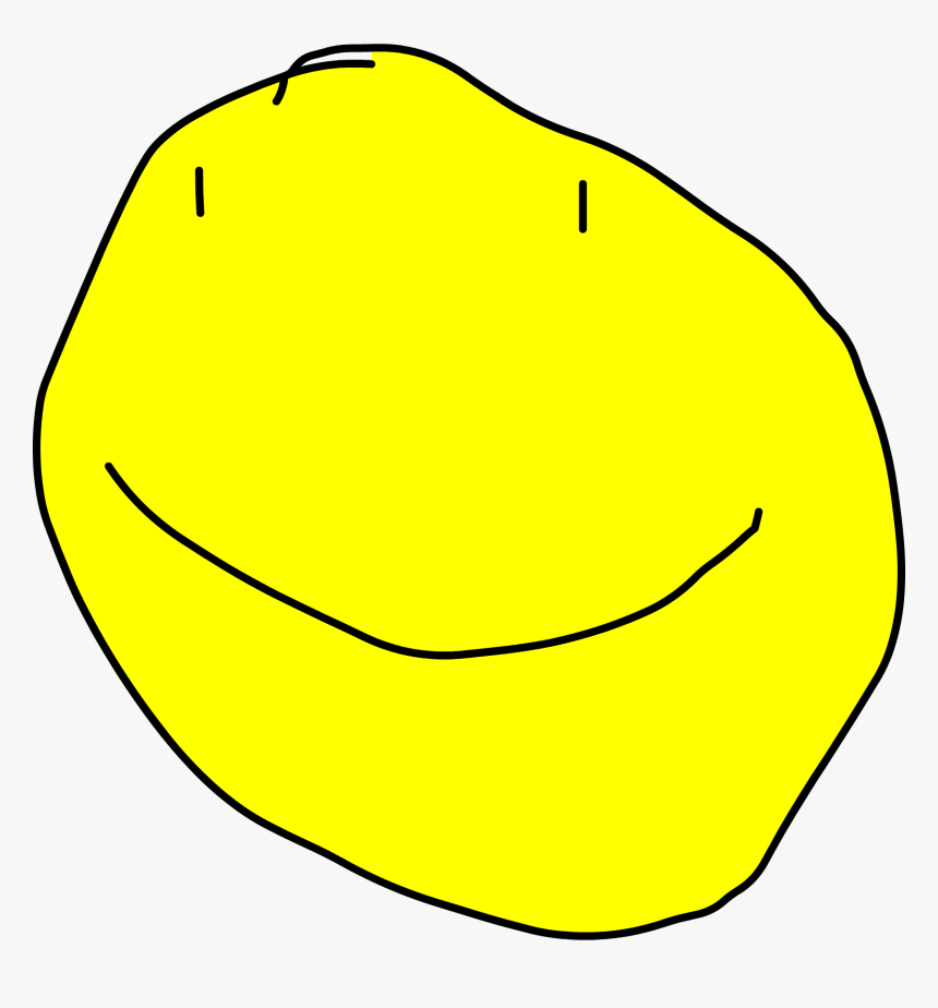 Battle For Dream Island Wiki - Bfdi Wiki Yellow Face, HD Png Download, Free Download