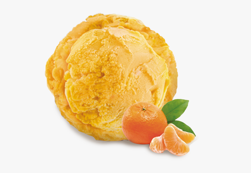 Helado De Sorbete De Mandarina Hd Png Download Kindpng