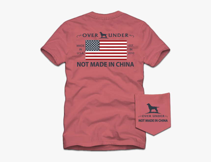 Over Under Not Made In China, HD Png Download, Free Download