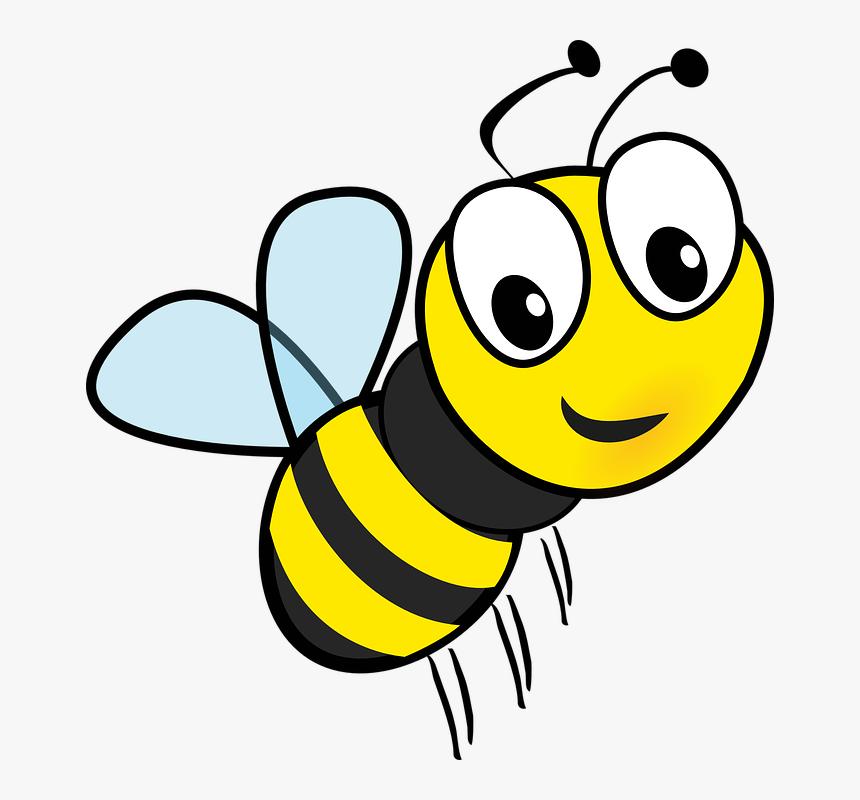 Mel Abelha Voar Inseto Zumbido Desenhos Animados Bee