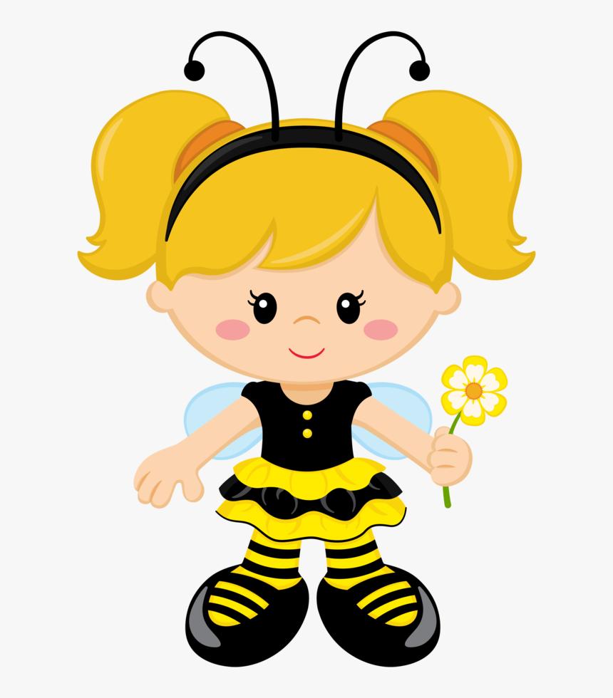Abelha, Bee, Abejas, Bienen - Tema Abelhinha Para Imprimir, HD Png Download, Free Download