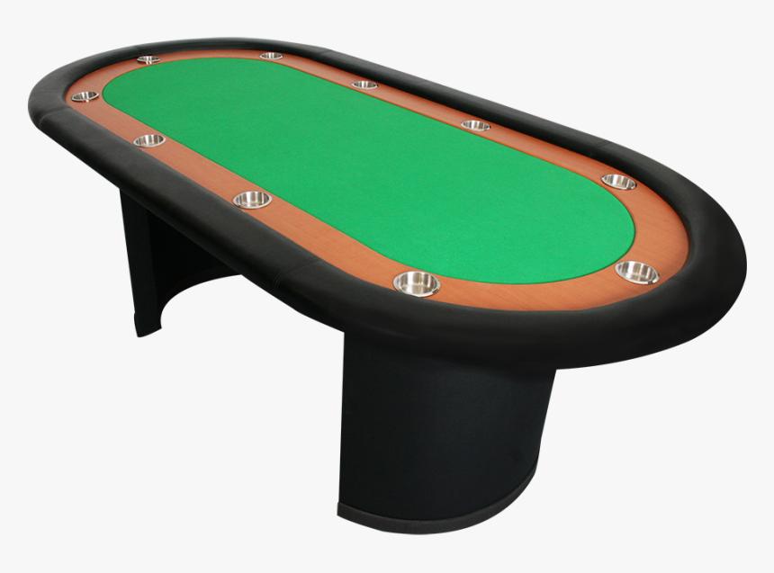 1706- Mesa De Poker Sem Porta Fichas - Mesas De Jogos De Carteado, HD Png Download, Free Download