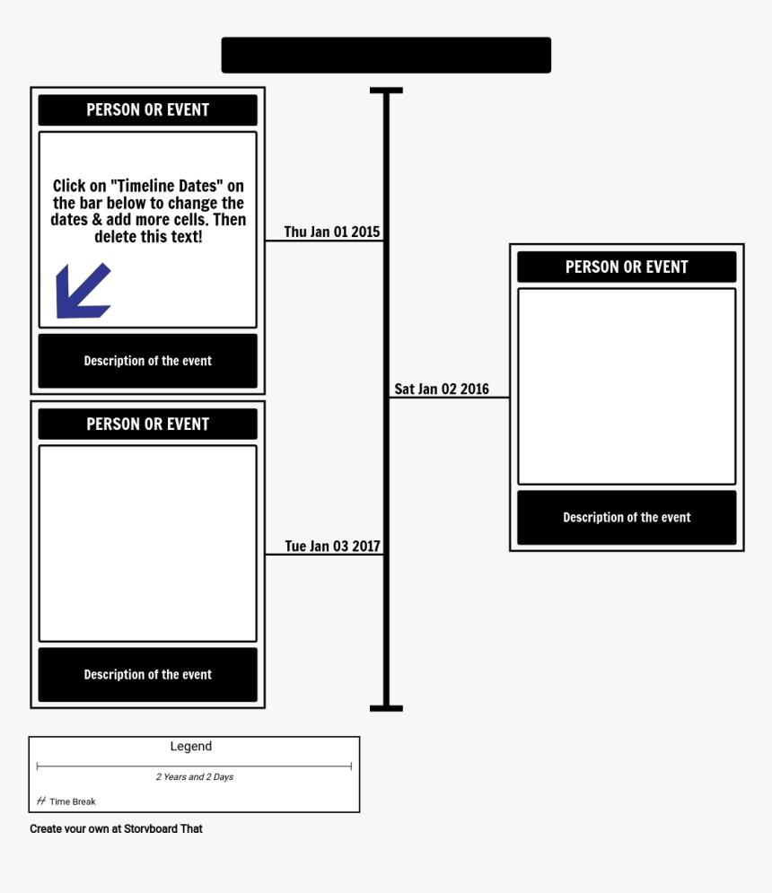 blank timeline png blank timeline  templates, hd png download - kindpng