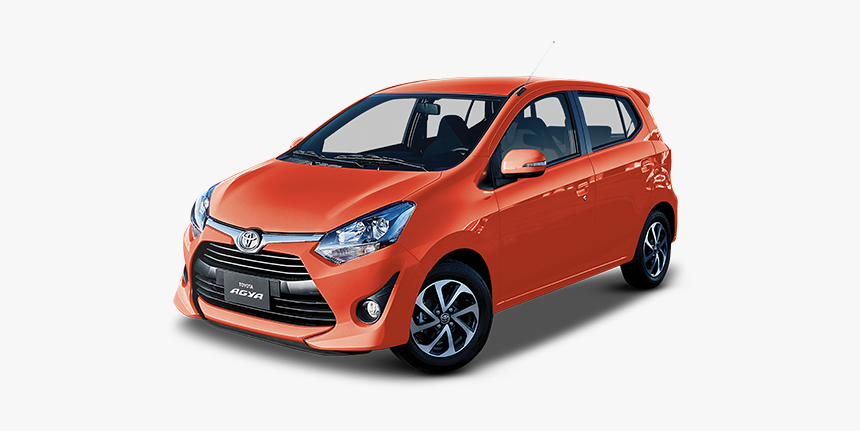 Car - Toyota Agya 2019 Gris, HD Png Download, Free Download