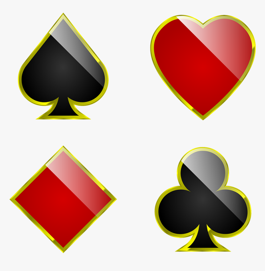 Suits Cards Playing Gambling Spade Poker Club Playing Cards Suits Png Transparent Png Kindpng