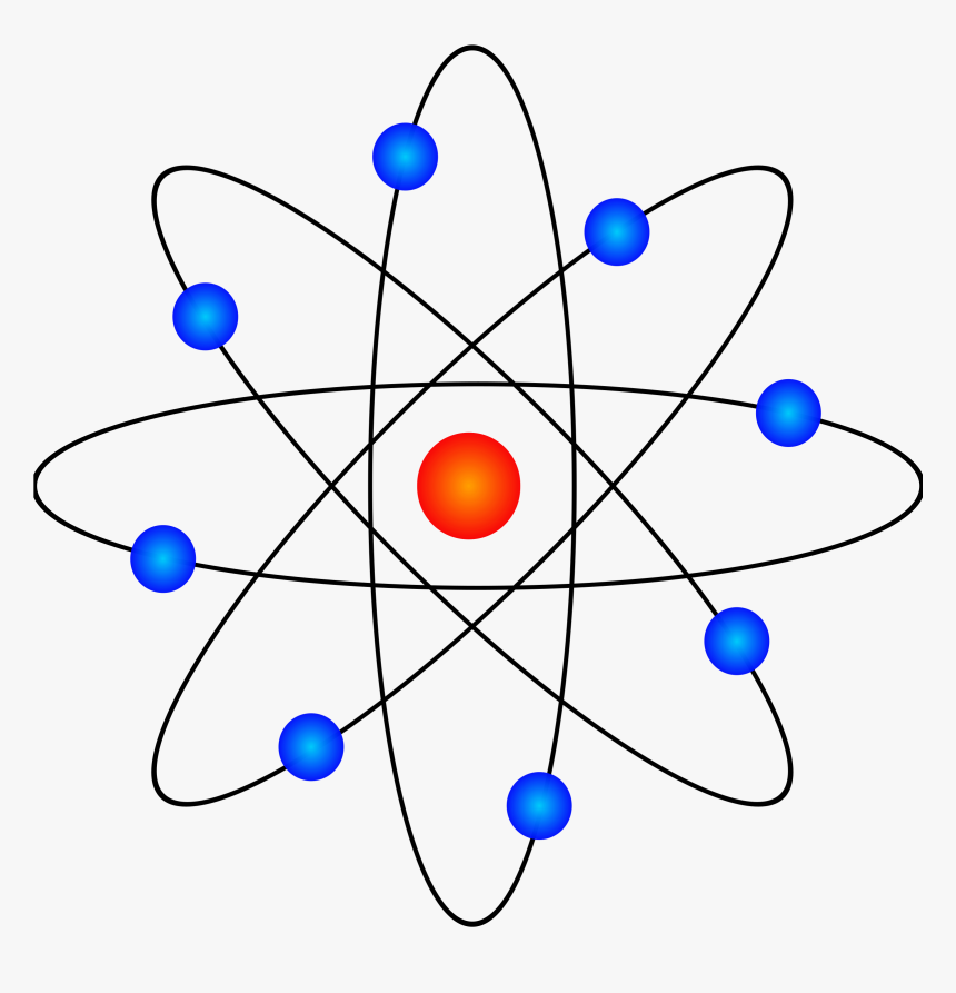 Atom Model, HD Png Download, Free Download
