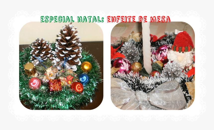 Clip Art Grazi Fernandes Especial Decora - Enfeites De Natal Na Bandeja, HD Png Download, Free Download