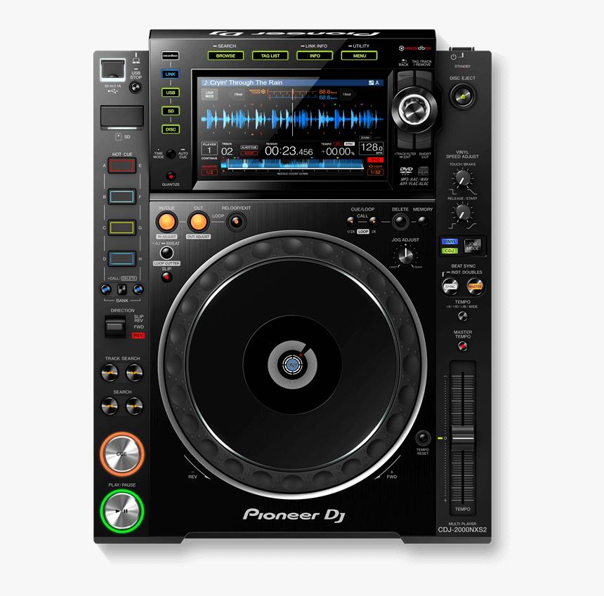 Pioneer Cdj2000 Nexus 2 Media Player - Pioneer Cdj 2000 Nexus Png, Transparent Png, Free Download