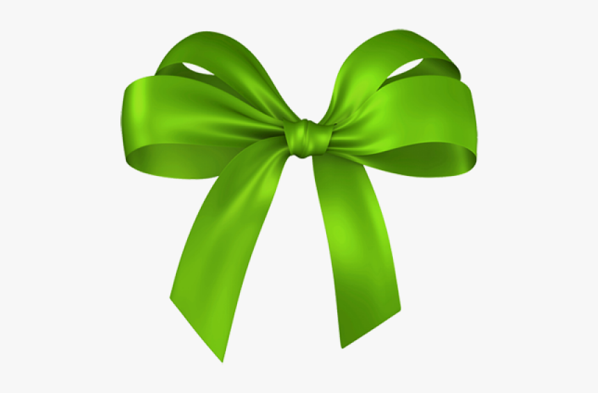 Green Red Ribbon Free Clipart Download - Green Christmas Bow Png, Transparent Png, Free Download