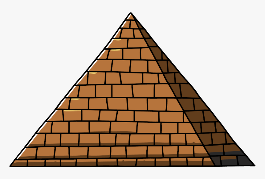 Great Pyramid Of Giza Egyptian Pyramids Gargamel And - Louvre, HD Png Download, Free Download