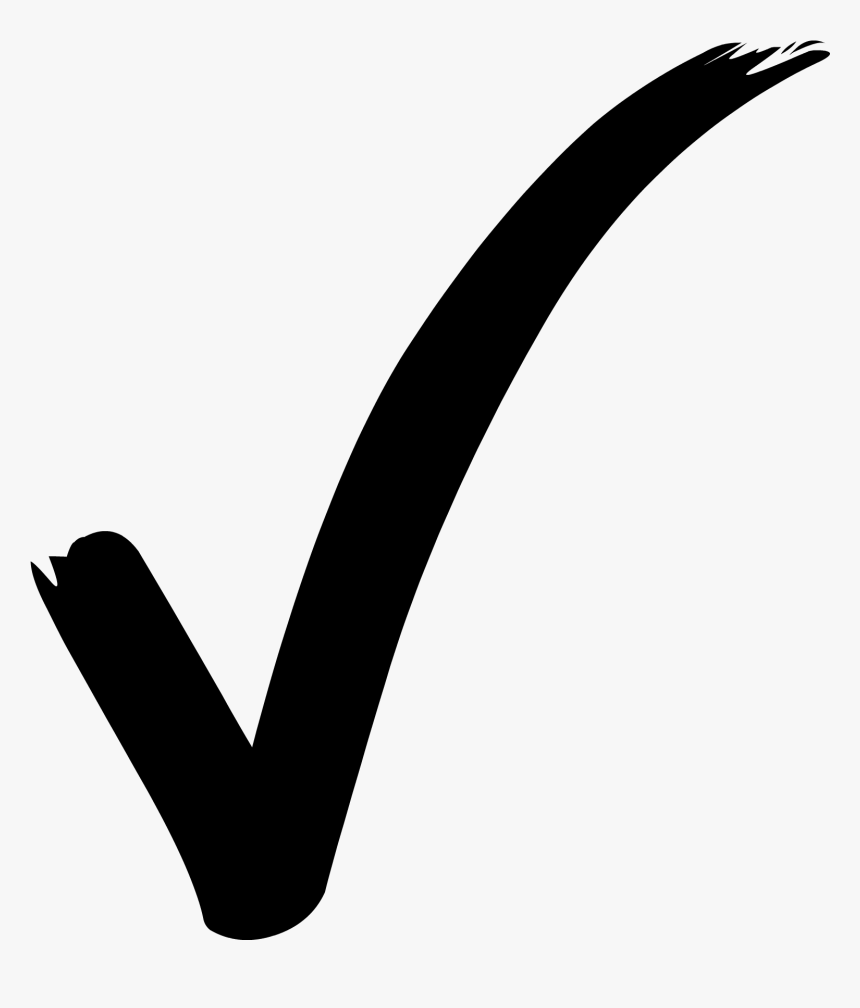 Transparent Check Box Clipart - Check Mark Symbol Png, Png Download, Free Download