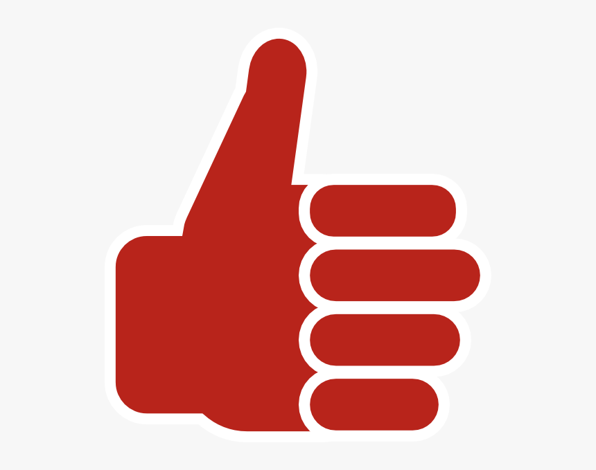 Thumbs Up Icon Red Clipart , Png Download - Thumbs Up Png Transparent, Png Download, Free Download