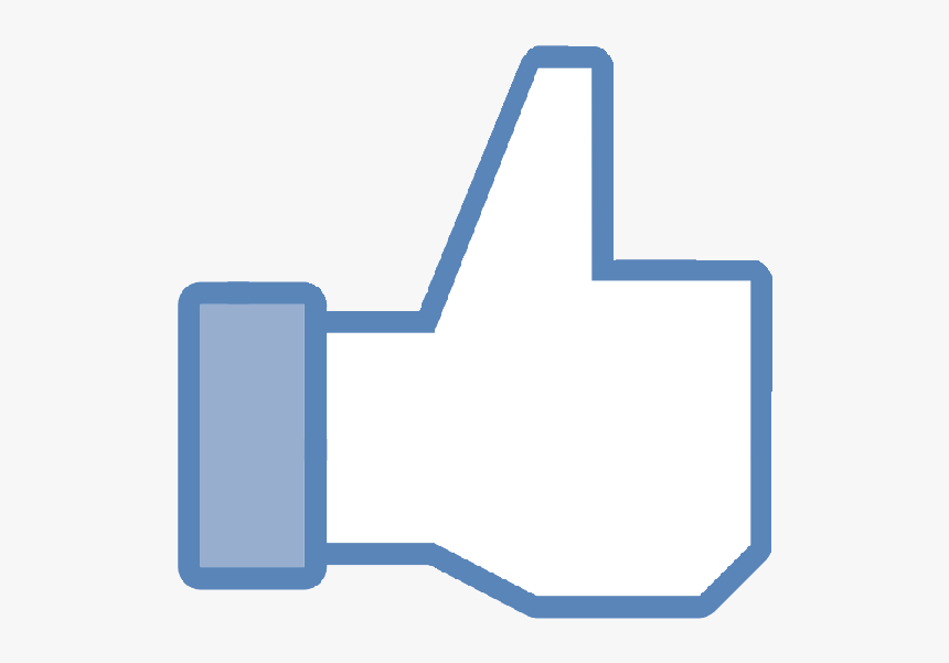 Facebook Thumbs Up Black Background, HD Png Download, Free Download