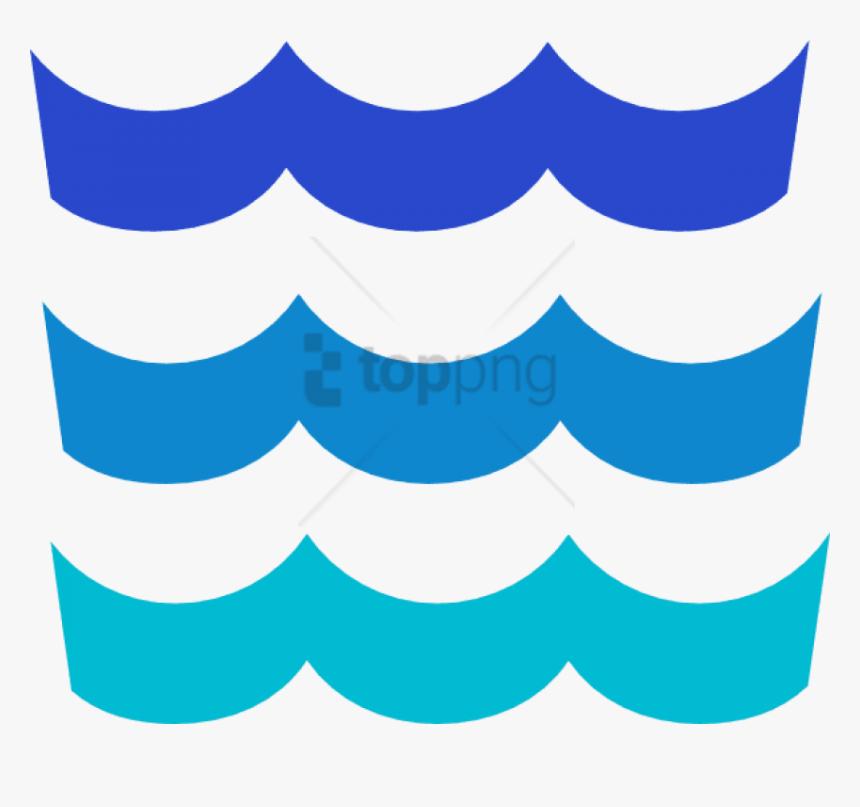 Waves, Ocean, Water, Sea, River - Wave Border Clip Art, HD Png Download, Free Download