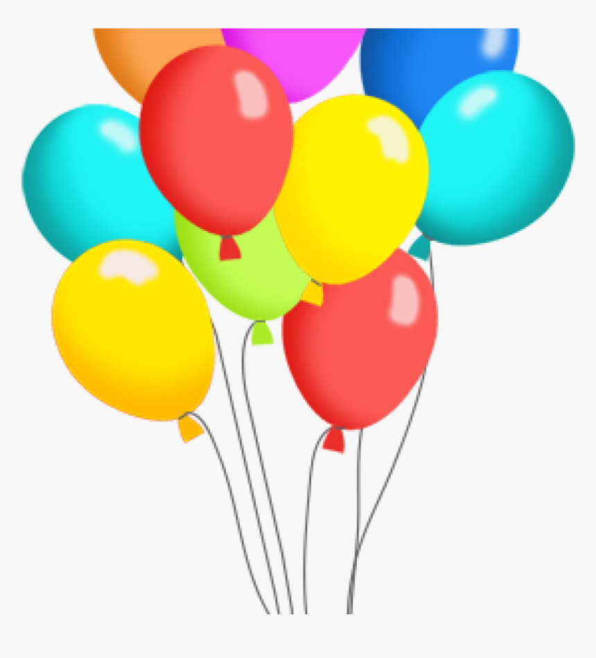 Free Clip Art For Birthday Balloons Birthday Balloons Clipart Hd Png Download Kindpng