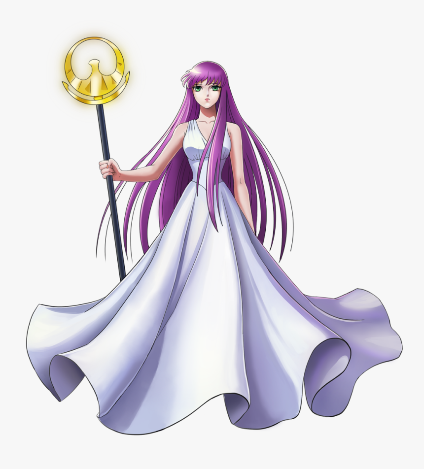 Transparent Seiya Png - Saori Kido Athena, Png Download, Free Download