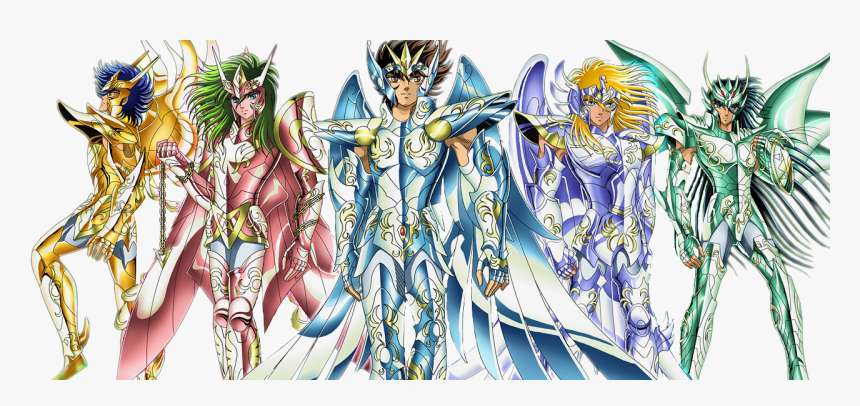 Saint Seiya God Cloth - De Portada De Los Caballeros Del Zodiaco, HD Png Download, Free Download