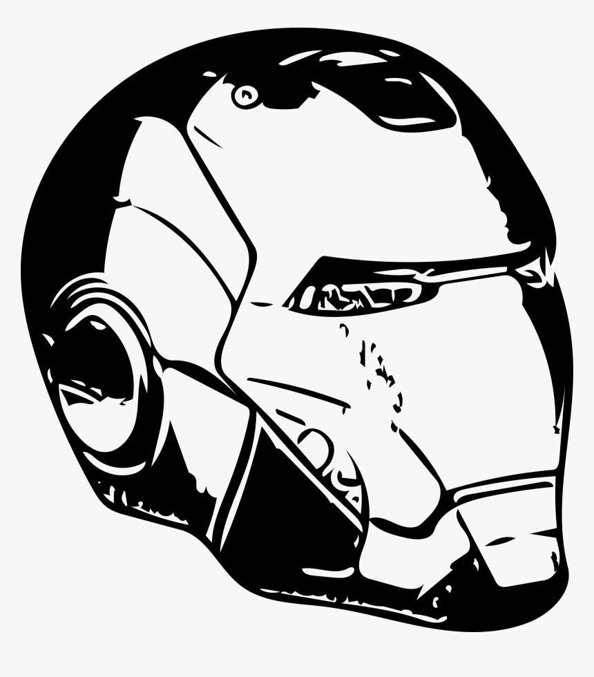 Transparent The Mask Png - Iron Man Helmet Svg, Png Download, Free Download