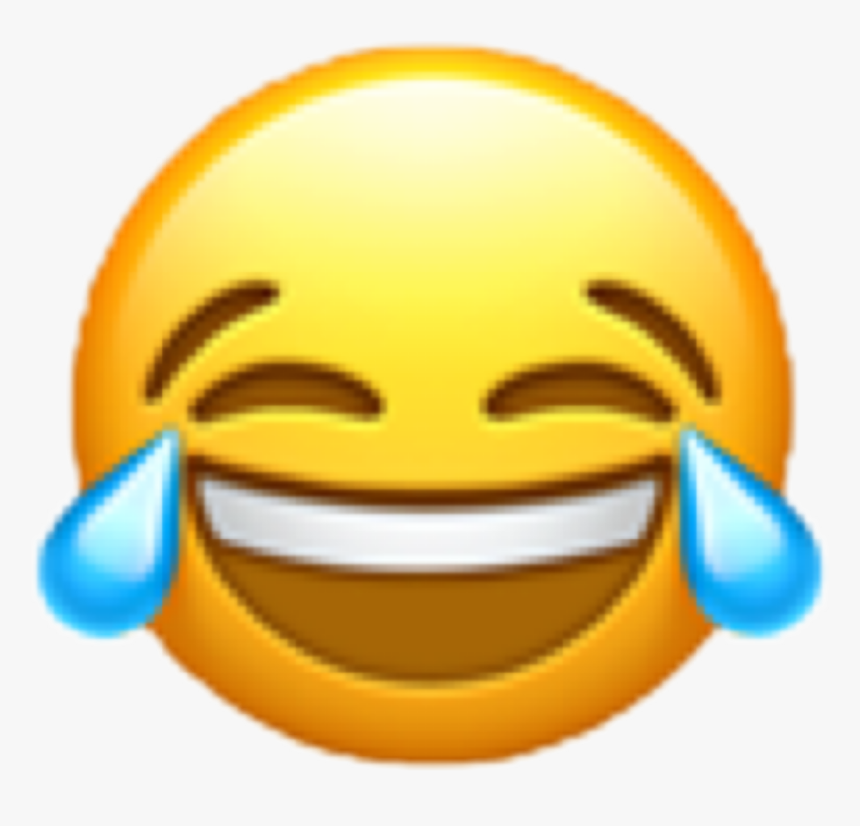 #emoji #lol #laughs #laughing #freetoedit - Transparent Background Laugh Emoji Png, Png Download, Free Download
