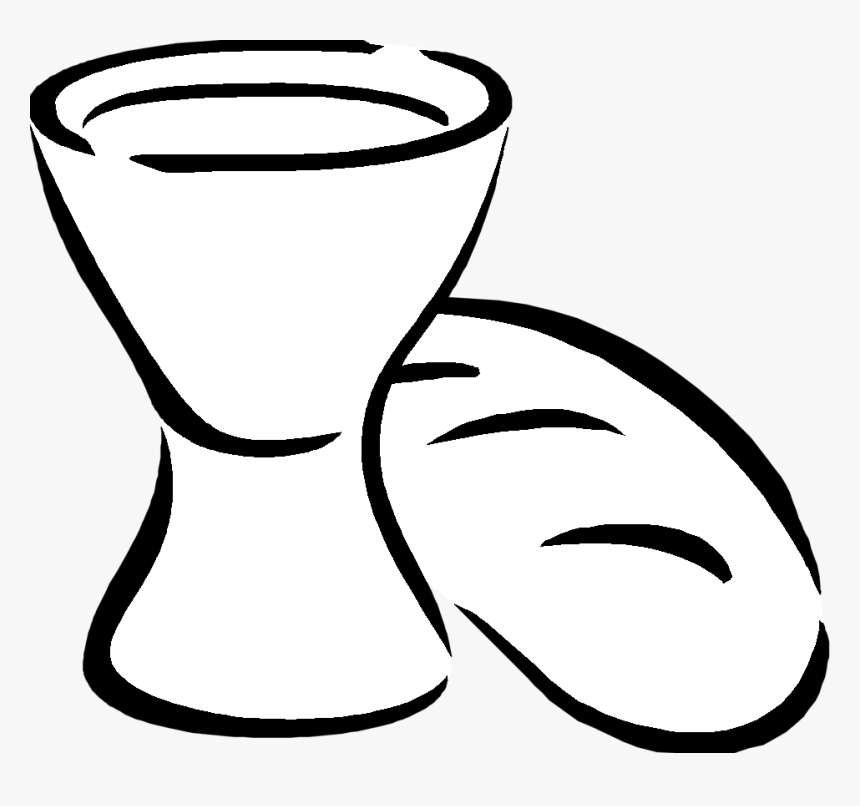 Bread And Wine Cartoon Hd Png Download Kindpng
