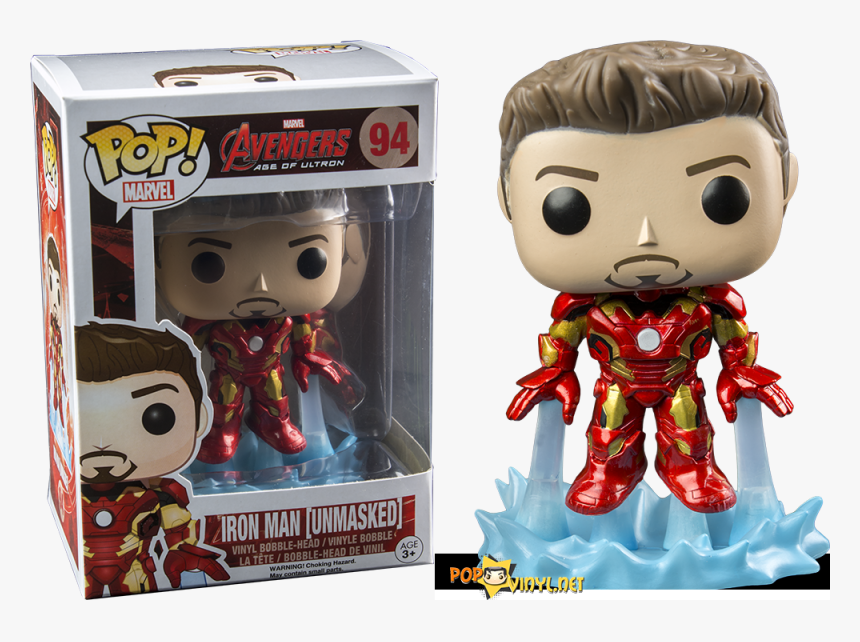 Transparent Iron Man Mask Png - Funko Pop Avengers Iron Man, Png Download, Free Download