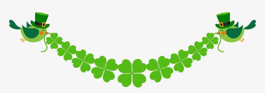 Saint Patricks Day, Luck, Clover, Grass, Leaf Png Image - Four Leaf Clover Banner, Transparent Png, Free Download