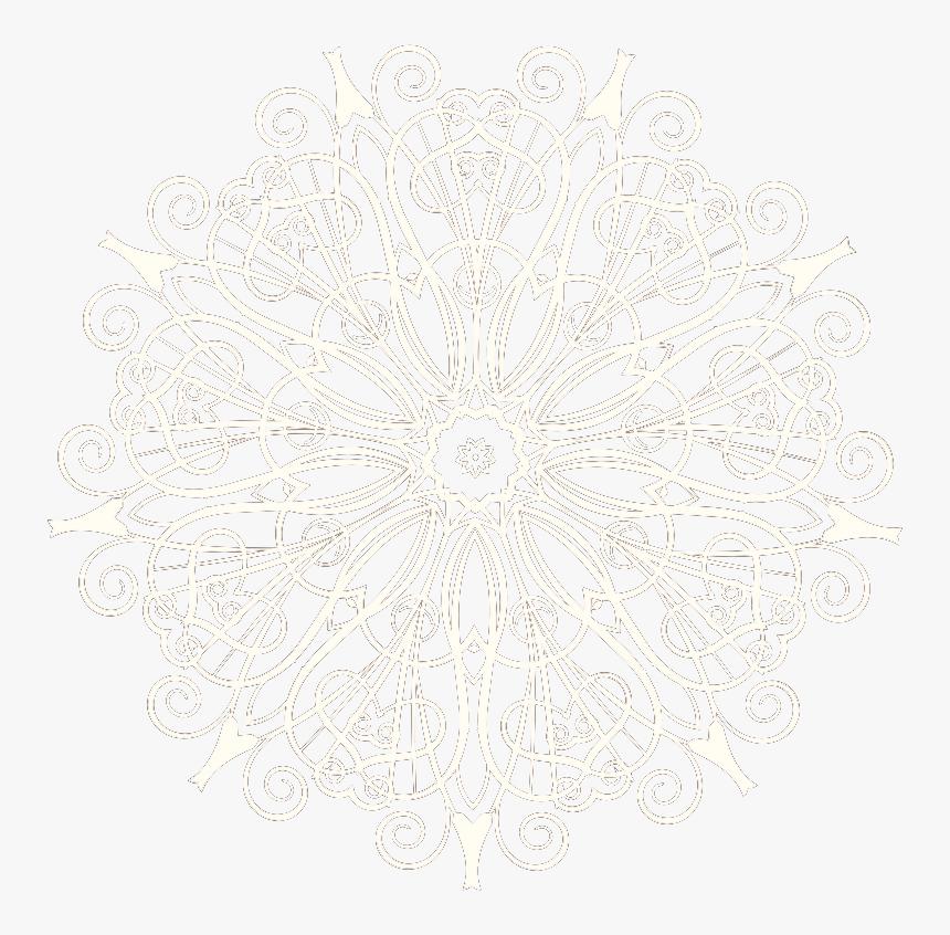 #corner #white #lace #cuorelucymy #mialu #lucymy - Circle, HD Png Download, Free Download